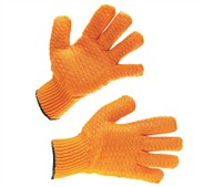 Cold Store Criss Cross Grip Gloves